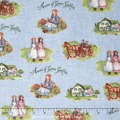Anne of Green Gables - Anne Main Blue Yardage