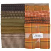 "Primo Plaids Harvest Favorites Yarn Dyed Flannel 10"" Squares"