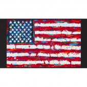 Patriots - Flag Americana Digitally Printed Panel