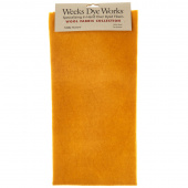 Weeks Dye Works Hand Over Dyed Wool Fat Quarter - Solid Mustard
