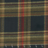 Mammoth Flannel - Plaid Russet Yardage