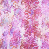 Garden of Dreams - Blooms Vivid Pink Digitally Printed Yardage