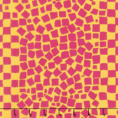 Kaffe Fassett Collective Spring 2019 - Bright Chips Yellow Yardage
