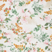 Magnolia - Bouquets Cream Yardage