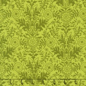 Zola - Damask Avocado Yardage