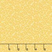Home Grown - Swirl Yellow Yardage