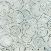 Queen Bee Batiks - Sunflower Seeds Light Tan Gray Yardage