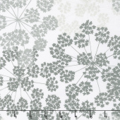 "Blueprint Basics Wide - Floral Fog 108"" Wide Backing"