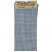 Weeks Dye Works Hand Over Dyed Wool Fat Quarter - Glen Plaid Blue Heron