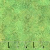 Rainbow of Jewels - Leaves Green Yardage