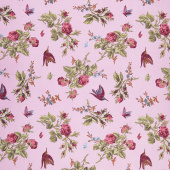 Anne of Green Gables - Floral Periwinkle Yardage
