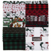 "Christmas Cabin 10"" Squares"