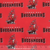 NFL - Tampa Bay Buccaneers Cotton Yardage