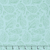 Dear Mum - Parsley Robin's Egg Yardage