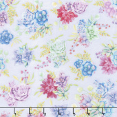 Humming Along - Succulent Garden Purple Yardage