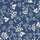 Regency Blues - Bamburgh English Blue Yardage