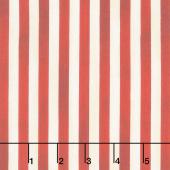 We the People - Patriotic Stripes Red Yardage