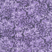 Flower Show - Packed Begonias Purple Yardage