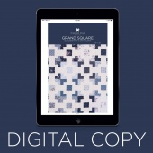 Digital Download - Grand Square Pattern by MSQC