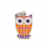 Owl Charm by Pin Peddlers