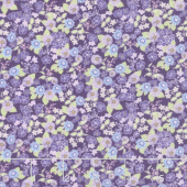 Garden Delights ll - Morning Glory Plum Yardage