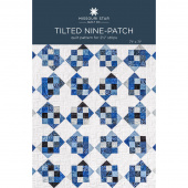 Tilted Nine-Patch Quilt Pattern by Missouri Star
