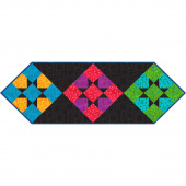 Twist & Shout Scrappy Star Table Runner Kwik Kit