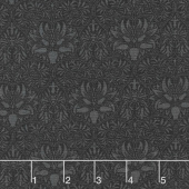 Morris Garden - Crown Imperical 1888 Ebony Yardage