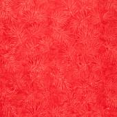 Tonga Batiks - Celebrity Spikey Leaves Water Marks Red Yardage