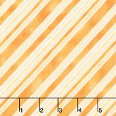 Bee My Sunshine - Stripe Orange Yardage