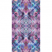 Fiorella - Looking Glass Amethyst Digitally Printed Panel
