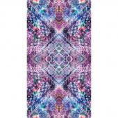 Fiorella - Looking Glass Amethyst Digitally Printed Panel