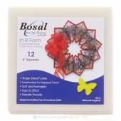 "Bosal In-R-Form Single-Sided Fusible - 12 pcs 6"" x 6"""