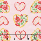 Love & Friendship - Roseheart Blush Yardage