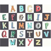 A to Zoo - Alphabet Blocks Multi Panel