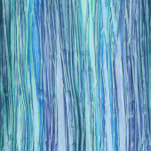 Artisan Batiks - Patina Handpaints Stripes Sea Glass Yardage