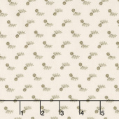 Flower Garden Gatherings Backgrounds - Peony Flower Tallow Yardage