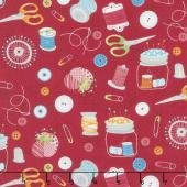Crafty Studio - Sewing Essentials Red Yardage
