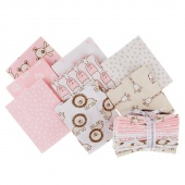 Penned Pals - Pink Colorstory Fat Quarter Bundle