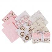 Penned Pals - Pink Colorstory Fat Quarter Bundle