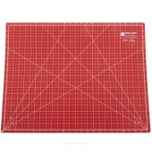 "Lori Holt's Cutting Mat - 18"" x 24"" Red/Pink"