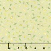 Flights of Fancy - Floating Leaves Leaf Digitally Printed Yardage
