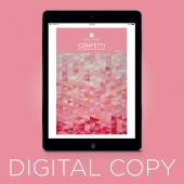 Digital Download - Confetti Quilt Pattern by MSQC