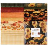 """Autumn Elegance 10"""" Squares"""