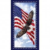 Novelty - Patriotic Eagle Multi Panel