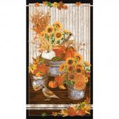 Giving Thanks - Autumn Harvest Metallic Panel