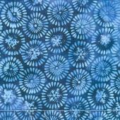 Winter Frost Batiks - Nordic Snowflake Universe Yardage