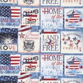 American Valor - Sampler Multi Yardage