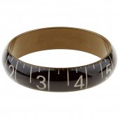 Missouri Star Measuring Tape Bracelet - Medium Black