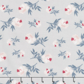 Blooms and Bobbins - Rose Gray Yardage